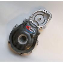 Carbon Motorschutz Zündungsseite KTM 250 EXC-F 14-16, 350 EXC-F 12-16