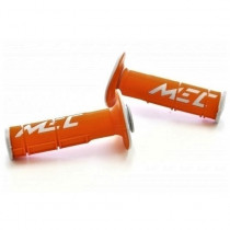 SALE% - MEC Griffgummi Racing Double orange-grau