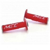 SALE% - MEC Griffgummi Racing Double rot-grau