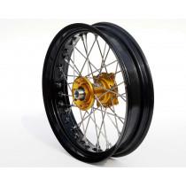 REX Rad 17x3.50 Suzuki 22MM schwarz-gold