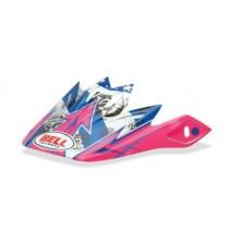 BELL Moto-9/Moto-9 Flex Peak Unit Pink