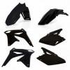Acerbis Plastik Kit Suzuki schwarz / 4tlg. #1