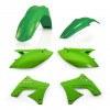 Acerbis Plastik Kit Kawasaki grün / 4tlg. #1