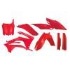 Acerbis Plastik Full Kit Honda rot / 6tlg. #1