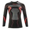 Acerbis Unterziehhemd X-Body Winter schwarz-rot #2