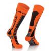 Acerbis Strumpf MX Pro schwarz-orange-fluo #1