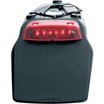Acerbis Kennzeichenhalterung LED60 schwarz-rot