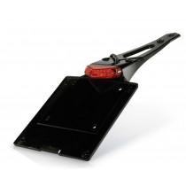 Acerbis Kennzeichenhalterung P113.60 schwarz-rot