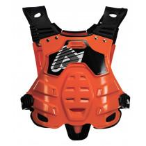 Acerbis Brust- & Rückenprotektor Profile orange-fluo