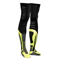 Acerbis Unterziehstrumpf X-Leg Pro schwarz-gelb-fluo