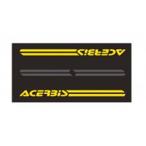 Acerbis Werkstattmatte Moto 200X100 schwarz-gelb