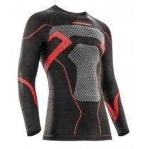 Acerbis Unterziehhemd X-Body Winter schwarz-rot