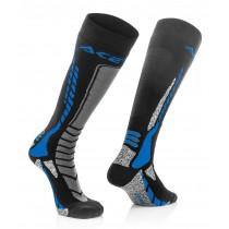 Acerbis Strumpf MX Pro schwarz-blau