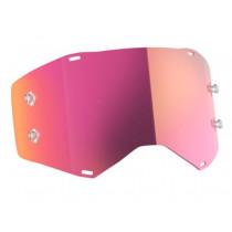 SCOTT PROSPECT/FURY EINZELSCHEIBE / Gläser pink chrome afc works